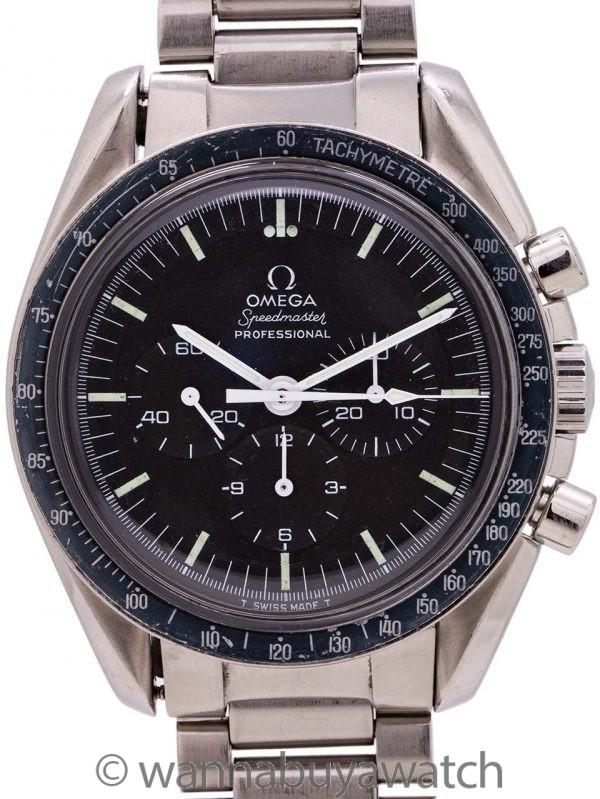 "Omega Speedmaster ""Straight Writing"" ref 145.022-69 Calibre 861 circa 1973"