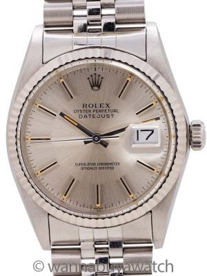 Rolex Datejust ref 16014 Stainless Steel circa 1984