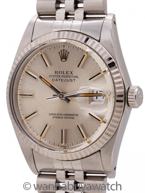 Rolex Datejust ref 16014 Stainless Steel circa 1984