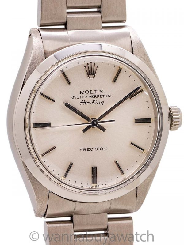 Rolex Air-King ref 5500 Stainless Steel circa 1982