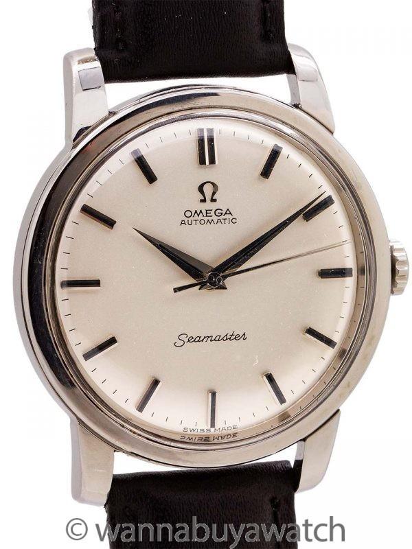 Omega Chronometer Certified Seamaster ref 165.011 circa 1964