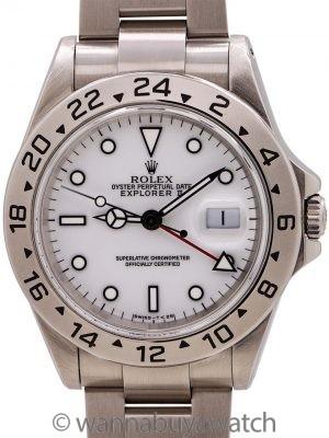"""Rolex Explorer II """"Tritium Polar"""" ref 16570 circa 1996"""