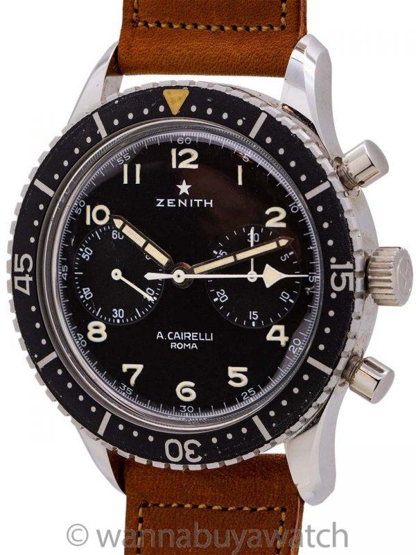 Zenith Cronometro Tipo CP-2 for A. Cairelli, Roma circa 1960's