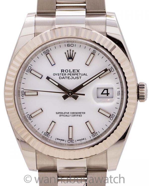 Rolex Datejust 41 ref# 126334 circa 2019 B & P