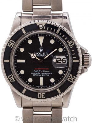 Rolex Red Submariner ref# 1680 Mark V circa 1970