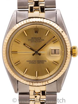 Rolex Datejust ref 1601 SS/14K YG circa 1970