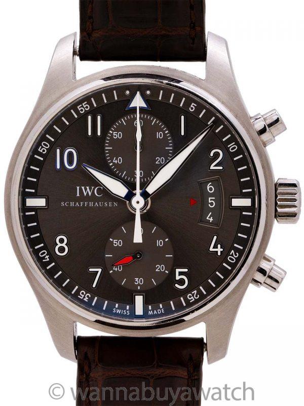 IWC Pilot's Watch Spitfire Chronograph circa 2014 B & P