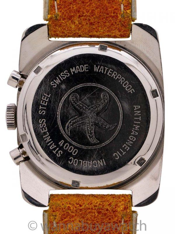 Haste Incabloc Chronograph circa 1970's