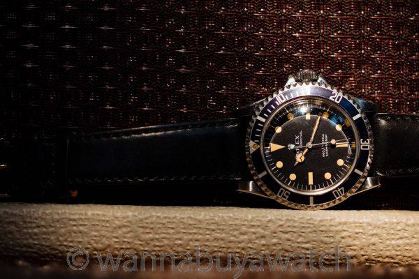"Rolex Submariner ref 5513 Stainless Steel ""Serif"" Dial circa 1968"