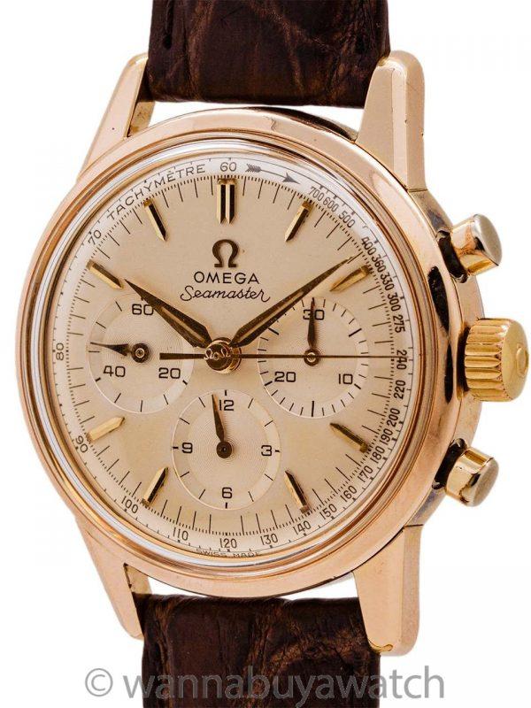 Omega Seamaster Chronograph Gold Filled ref. 105.001-62 w/ Calibre 321 circa 1962