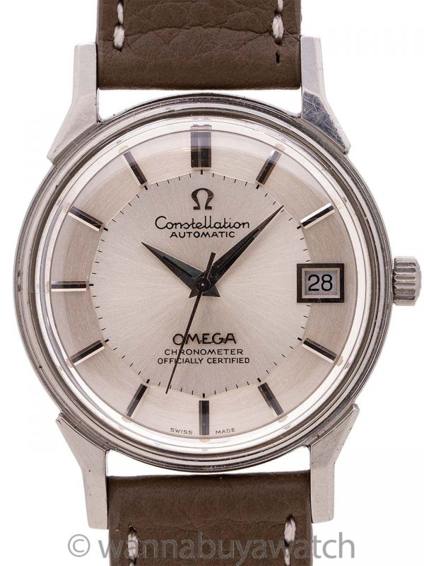 Omega Constellation ref 168.0065 Stainless Steel circa 1973
