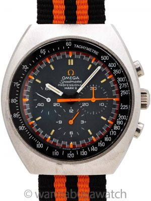 Omega Speedmaster Mark II Racing Dial 145.014 circa 1970