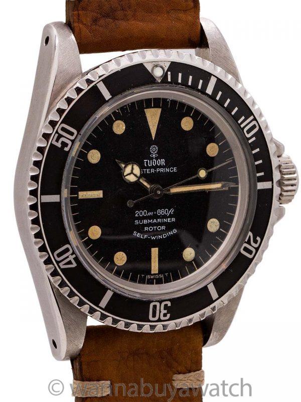 Tudor ref 7928 Submariner Gilt Dial circa 1967