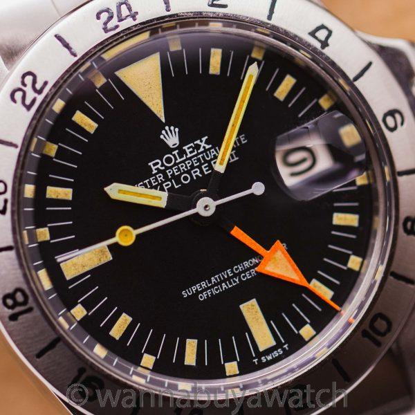 "Rolex ref 1655 Explorer II ""Steve McQueen"" circa 1970"