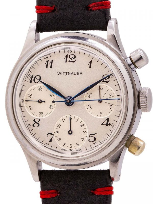 Wittnauer 3 Registers SS Chronograph circa 1960's