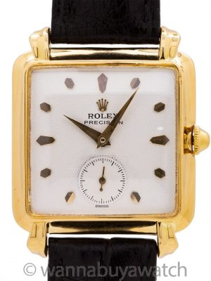 Rolex 14K Manual Wind Dress Model ref 8094 circa 1940's