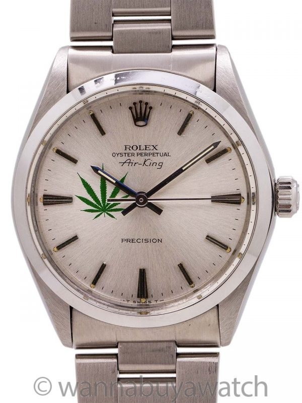 "Rolex Oyster Perpetual Air-King ref 5500 ""4/20 Edition"" circa 1980"