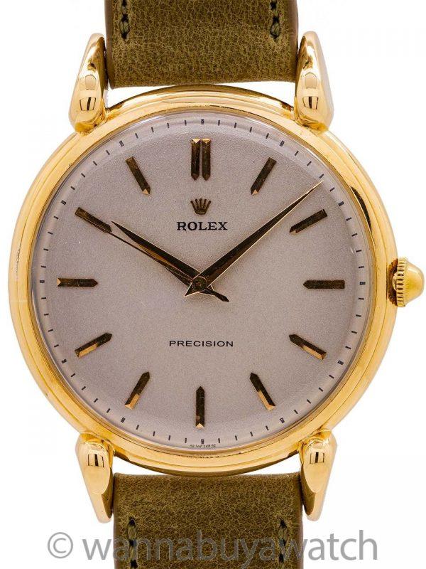Rolex Precision 18K YG ref. 4364 circa 1947