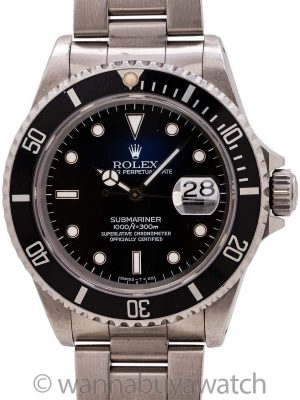 Rolex Submariner ref. 16610 Tritium circa 1995 Full Set