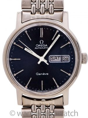 Omega Geneve Automatic Day-Date ref 166.0117 circa 1974