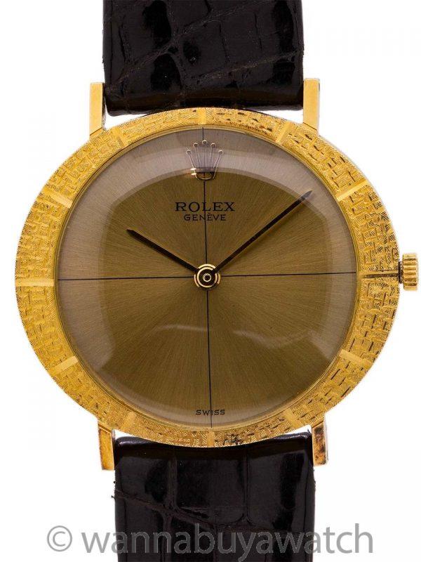 Rolex Cellini 18K YG circa 1965