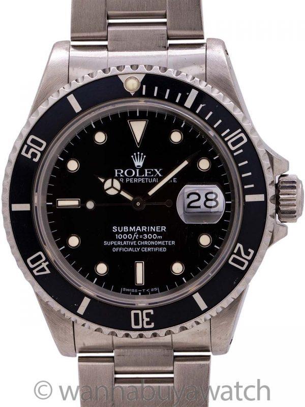 Rolex Submariner ref. 16610 Tritium circa 1989