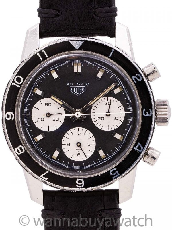 Heuer Autavia ref 2446C Valjoux 72 circa 1968