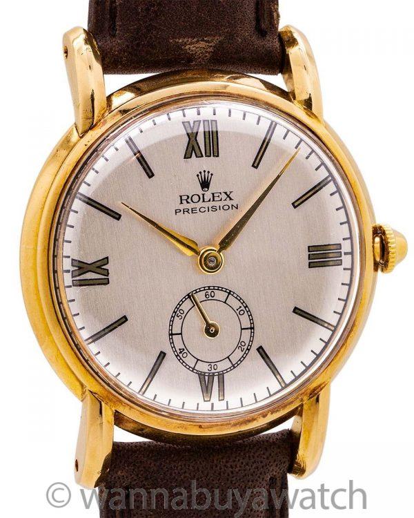 Rolex Precision 14K YG ref. 5269 circa 1958