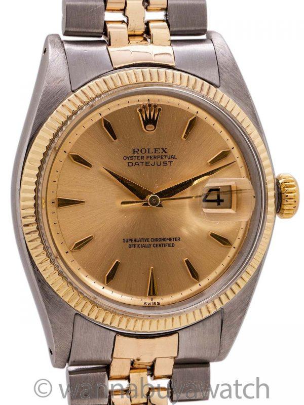 Rolex Datejust ref 1601 SS/14K YG circa 1960