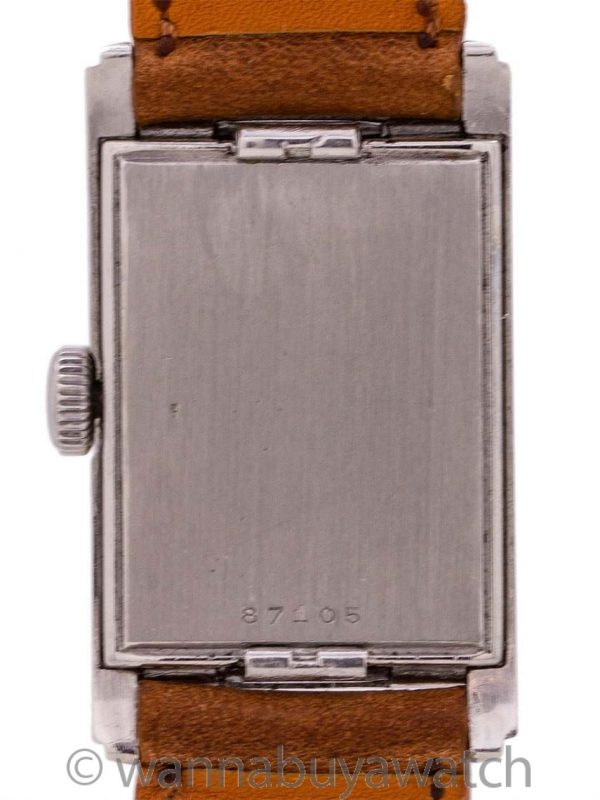 Lecoultre Waterproof Design Stainless Steel circa 1939