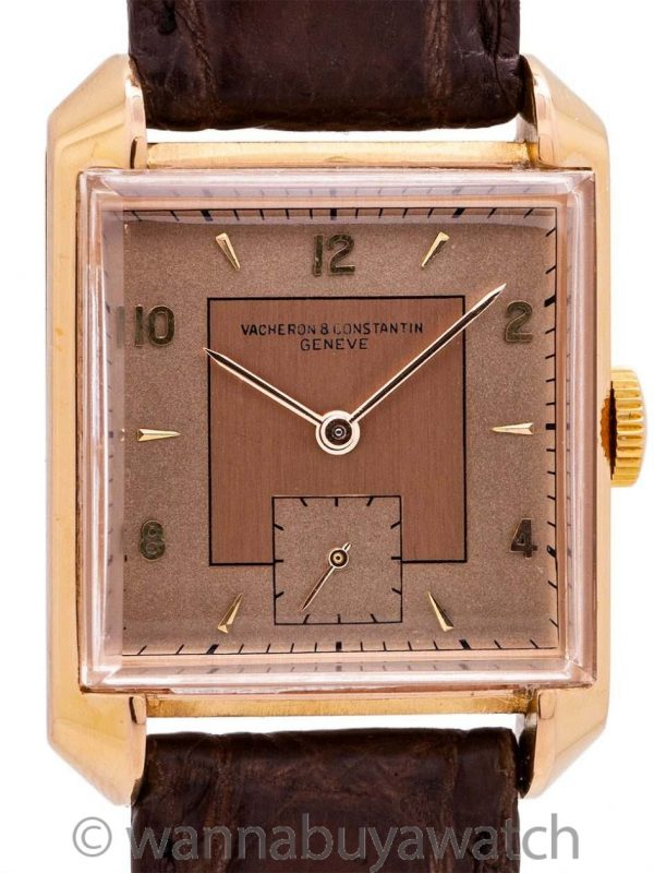 Vacheron and Constantin 18K PG circa 1940's