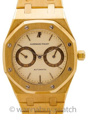 Audemars Piguet Royal Oak ref. BA5572 18K YG circa 1984