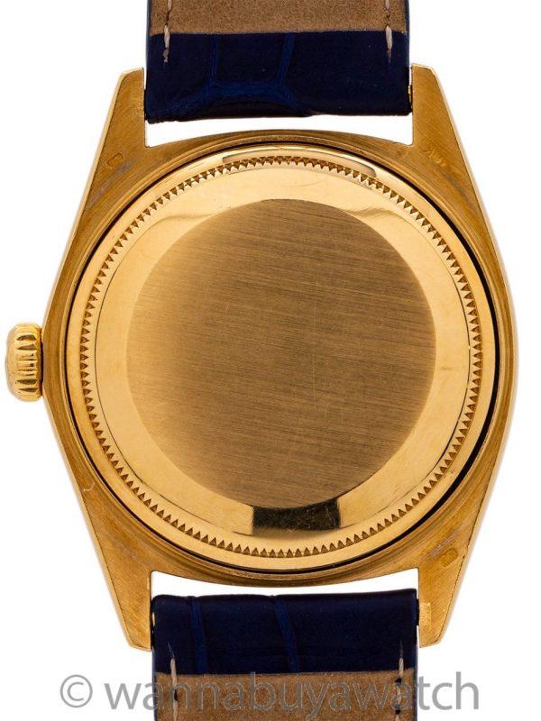 Rolex ref 18038 Blue Diamond Dial circa 1978