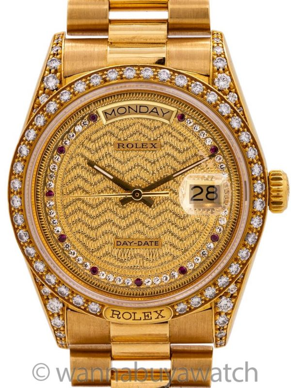 Rolex Day Date President 18K YG ref 18138 circa 1986