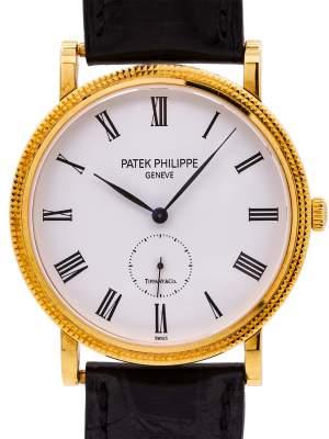Patek Philippe ref 5119 Calatrava Tiffany Signed 18K YG circa 2010's