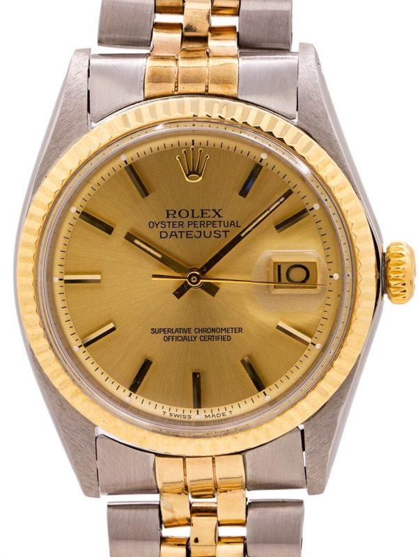 Rolex Datejust ref 1601 SS/14K YG circa 1965