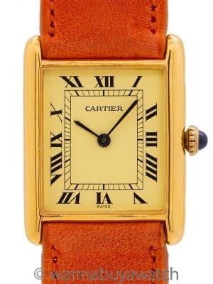 Cartier Lady Tank Louis Vermeil circa 2000's