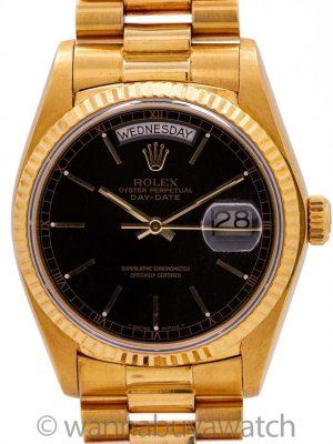 Rolex Day Date President 18K YG ref 18038 circa 1978