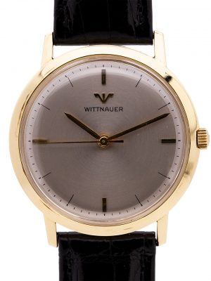 Wittnauer 14K YG Dress Model circa 1960's