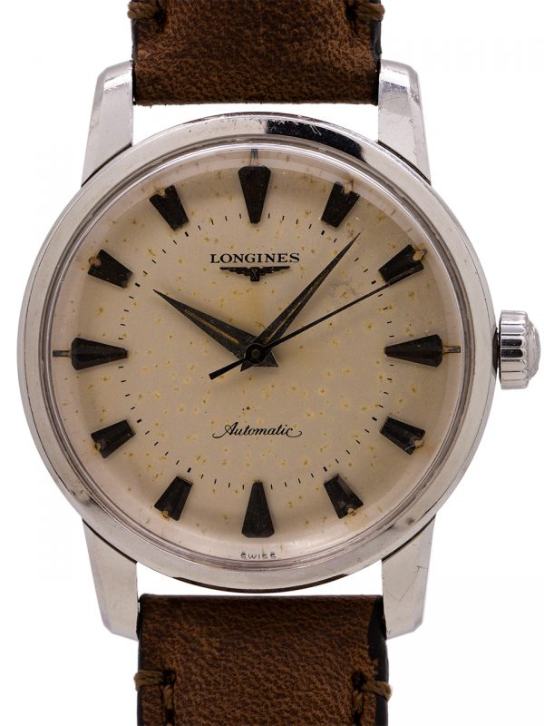 "Longines SS ""All Guard"" Automatic circa 1960"