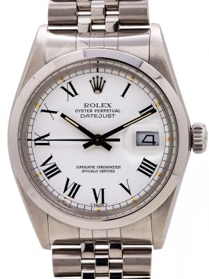 Rolex Datejust ref 16000 Buckley circa 1980