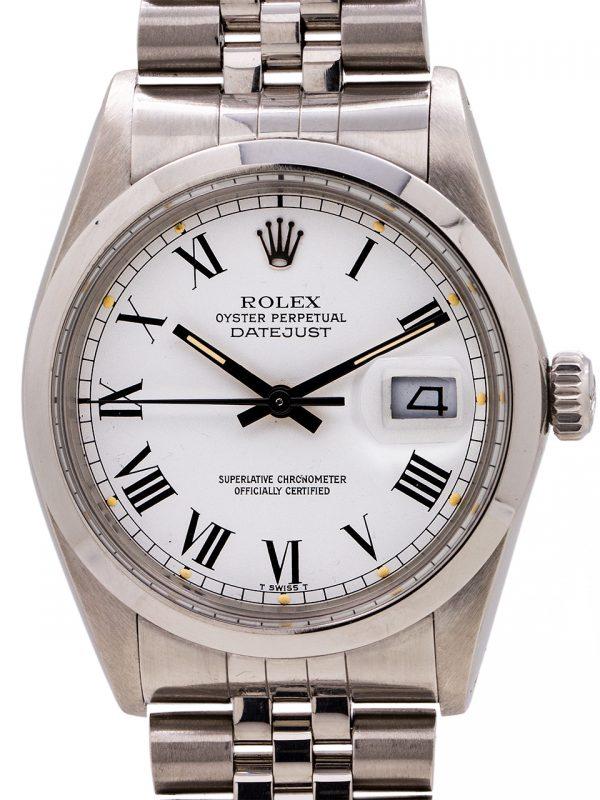 Rolex Datejust ref 16000 Buckley circa 1980