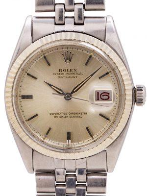 Rolex Datejust ref# 1601 SS/14K WG circa 1964