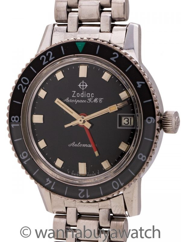Zodiac SS Aerospace GMT Automatic circa 1960's