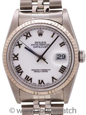 Rolex Datejust SS/18K WG ref 16234 circa 2003