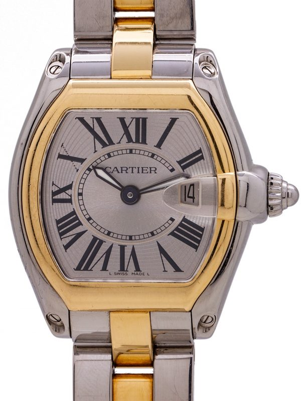 Cartier Lady Roadster SS/18K YG circa 2000's