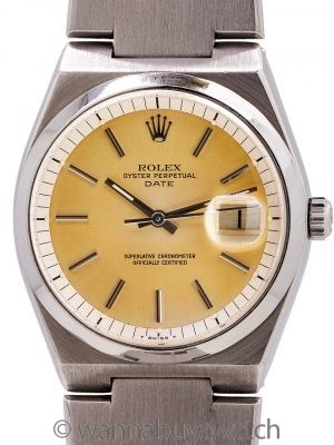 Rolex Oyster Perpetual Date ref 1530 SS Automatic (Oyster Quartz Case) circa 1977