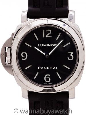 Panerai PAM219 Luminor Base Destro circa 2006 w/ Box & Papers