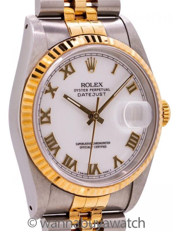 Rolex Datejust ref 16233 SS/18K circa 1990