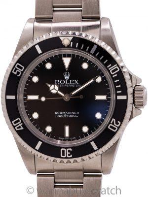 Rolex Submariner ref 14060 Tritium circa 1995